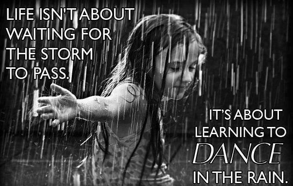 Danzare nella pioggia...